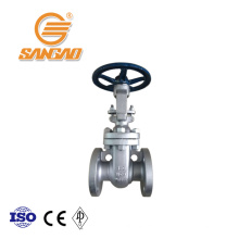 wholesale cast steel gate valve oil gas dn150 flanged gate valve api600