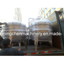 500L Meat Heating Jacketed Tanks Made of SUS304