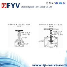 Válvula de parada de válvulas de globo sellada (tipo Y)