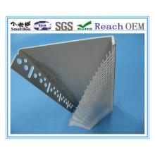 O perfil de alta qualidade do canto do PVC com malha da fibra de vidro faz o OEM