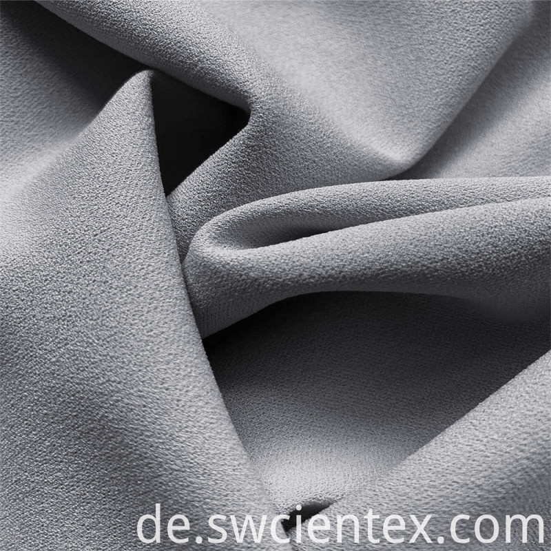 Custom Plain Gray Dty Polyester Stretch Jersey Fabrics