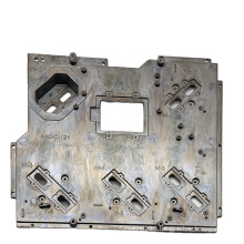 Custom OEM aluminum die casting metal plate ADC12 cast model shell parts