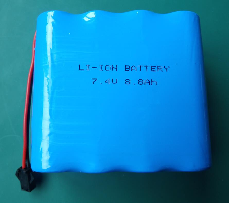 7.4V 8.8Ah lithium cell batteries
