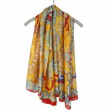 Bufanda de la gasa de la impresión de la manera que sorprende bufanda cuadrada