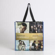 bolsa de promoción con bolsa plegable de bolsa de compras del titular