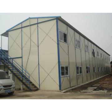 Casa temporal prefabricada de estructura de acero (KXD-pH1417)