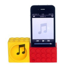 Silicone Horn Stand for iPhone 5 5s