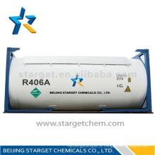 Gás refrigerante de alta pureza R406a