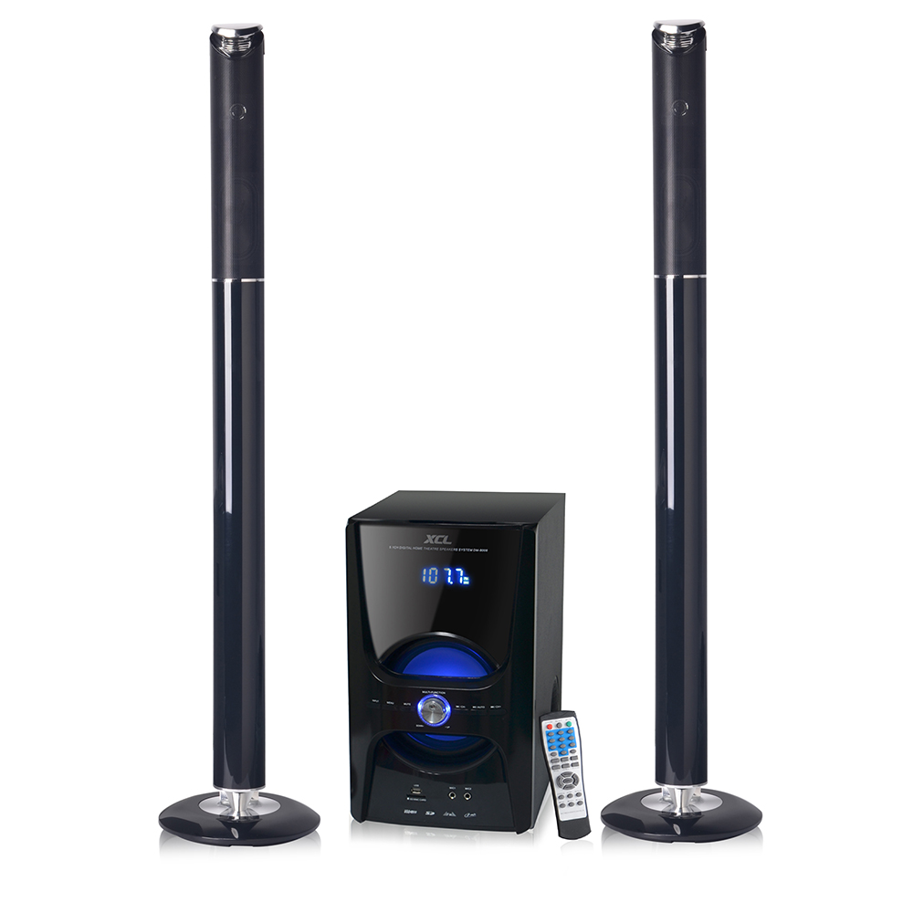 Tower Speaker With Usb Sd Remote