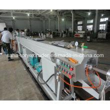 Легкий Приведитесь в действие машину пластиковых HDPE производственная линия трубы