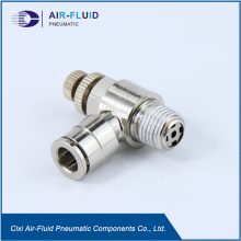 Air Fluid BSPTPneumatic  Metal Speed Control Valve.