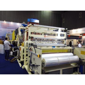 Drie Extruders Film Stretch Machine