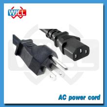 UL CUL certified USA Canada 3pin ac power cord connector