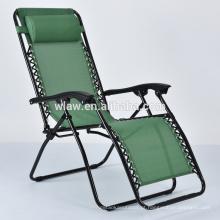 mobília da cadeira do pátio da sala de estar do chaise do metal