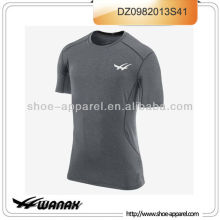 Latest lighweight and breathable men running shirts wholesale
