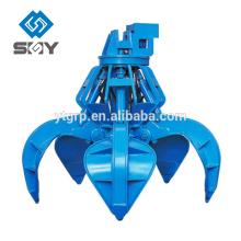Grappin de ferraille électro-hydraulique
