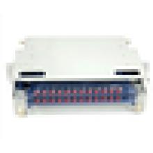 24port odf,19 inch rack mounted 3U ODF 24core ,ST sc adapter distribution frame