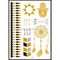 Conceptions de tatouage de receveur de rêve, tatouages provisoires adaptés aux besoins du client d'or