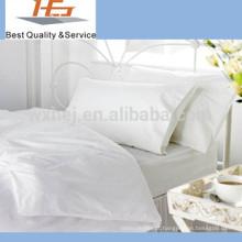 Hotel Motel Hospital branco super único conjunto de folhas de cama