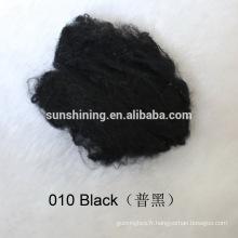 fibre discontinue viscose teintée