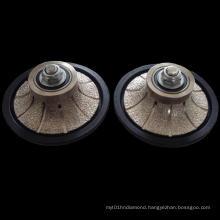 Vacuum Brazed Hand Profile Wheel: Hand Profile Wheel for Tiles