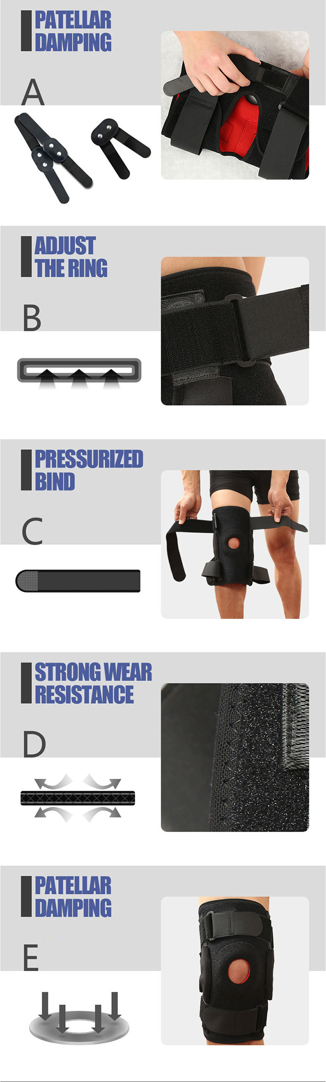 durable knee support