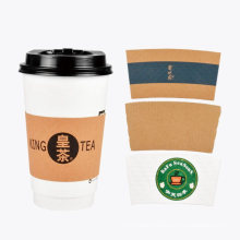 Disposable Adjustable Advertisement Paper Cup Sleeves