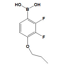 2, 3-дифтор-4-пропилоксифенилборная кислота CAS № 212837-49-5