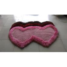 Специальный ковер формы с одним или двумя сердцами