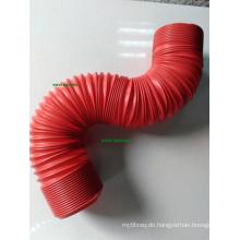 Red 3in Flexible Pipe Universal für Auto Lufteinlass Rohrfilter