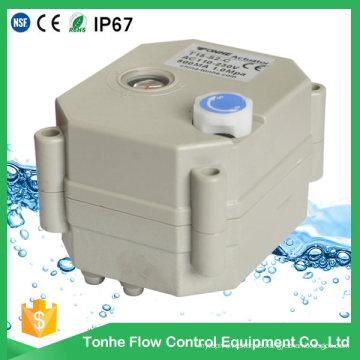 Elektrisches motorisiertes Wasserventil des Kugelventil-Antriebs-Ersatzteile 24VDC