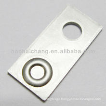 Straight welding wire terminal for heating equipment and heating elements