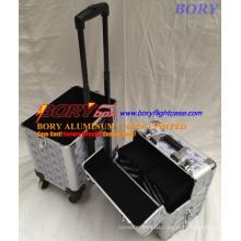 Многофункциональный алюминиевый чемодан для макияжа для парикмахеров