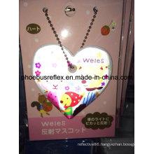 CE Reflective Badge/Keychain/Zipper Hanger 5cm X 5cm
