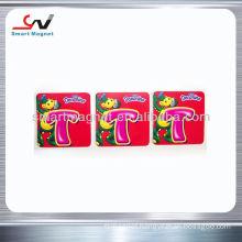Personalized promotional soft pvc fridge magnet