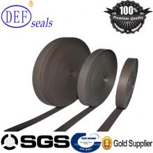 Coffee/Green PTFE Guide Strip Hydraulic Seals