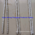 Knitted Fiberglass Wick Used for Oil Lamp