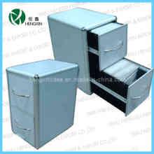 Caisson en aluminium et tiroir à 2 caisses en CD et coffre et armoire (HX-P1386-2)