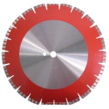 Ferramentas de corte de lâmina de serra de diamante para concreto (corpo normal, turbo Seg.)