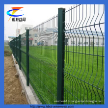 Anping Cheap PVC Coated Triangle Bending Fence (factory, since1999)