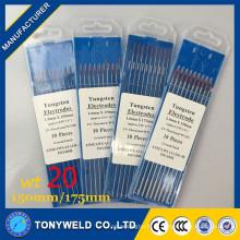 сварка вольфрамовым электродом в сварочные электроды wt20 2.4*150 Thoriatedtungsten электрода