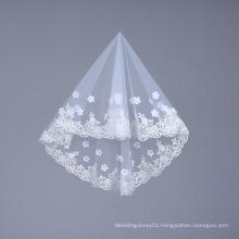 Handmade Short Tulle Bridal Veils for Bride Wedding