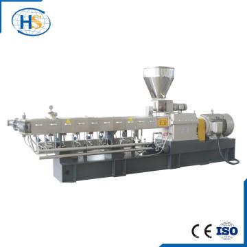 Machine jumelle tournante conique d'extrudeuse de vis pour le mélange principal de couleur d'EVA