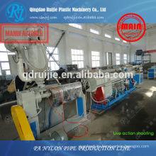 conducto de nilón fabricación de maquinaria, maquinaria pa la pipa, línea de producción de tubos de nylon