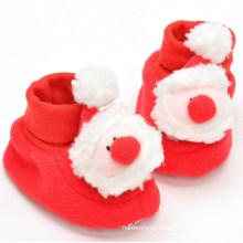 OEM Christmas Plush Non-Slip Shoes for Kids and Children