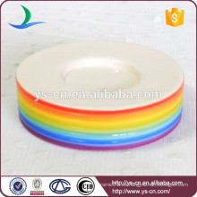 YSb40001-01-sd Arco iris accesorio baño jabonera