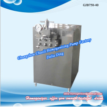 Pharmaceutical fat milk high pressure homogenizer