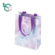 China Factory Small Gift Paper Fancy Decorative Tags Closed Bags With Hang