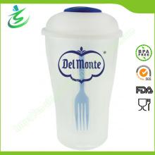 Shaker de salade en plastique gratuit BPA pour gros