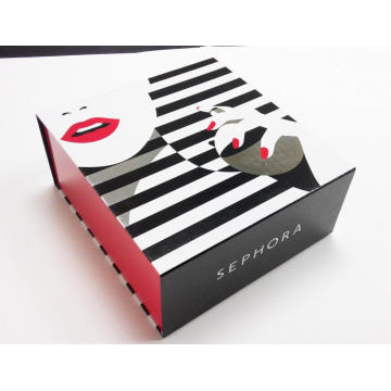 Färgglada Makeup Folding Paperboard Packaging Box